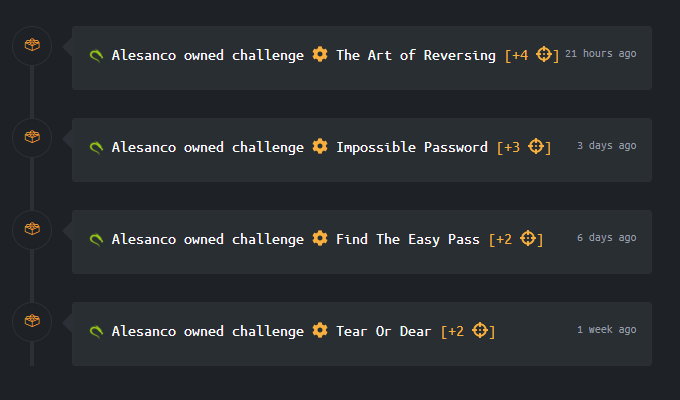 Ok, these challenges are very easy in general, but in this moment, I feel like a boss.